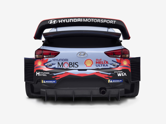 Hyundai i20 Coupe WRC 2019_back