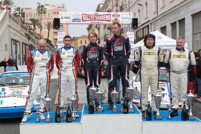 Podio Sanremo Rally Storico