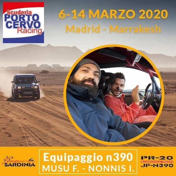 Fabrizio Musu-Igor Nonnis_Porto Cervo Racing_Panda Raid 2020