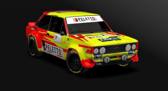 Fiat 131 Paolo Diana e Peletto Racing Team